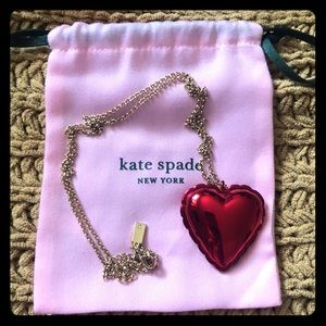 Kate Spade Heart Necklace